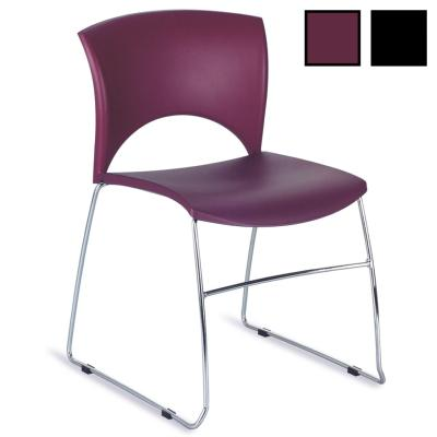 KOLIN - Chaise de réunion luge empilable