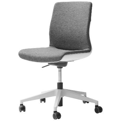 Hybrid - Siège de bureau ergonomique Tissu gris