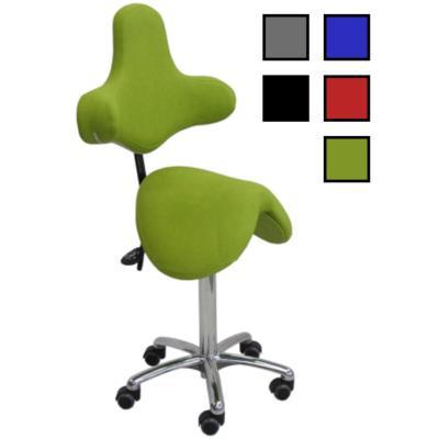 TITU - Chaise de bureau assise forme selle de cheval