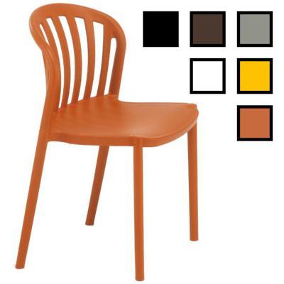 OSAN - Chaise de réunion en plastique - Brique