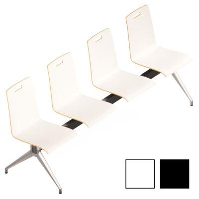 IXELLE - Chaise poutre bois aux assises résistantes