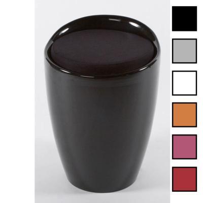 BUBBLE - Tabouret design - Noir