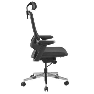 ORBEY - Siège de bureau ergonomique Tissu noir