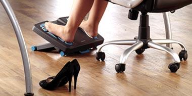 Repose-pieds pour fauteuil de bureau
