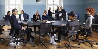 Table de réunion/conférence
