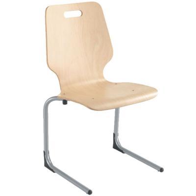 NOKIA - Chaise appui table en bois