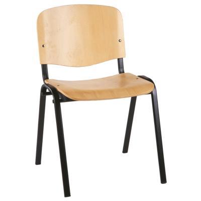 CAEN - Chaise de réunion empilable en bois