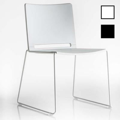 EKLO - Chaises luge structure noire ou blanche