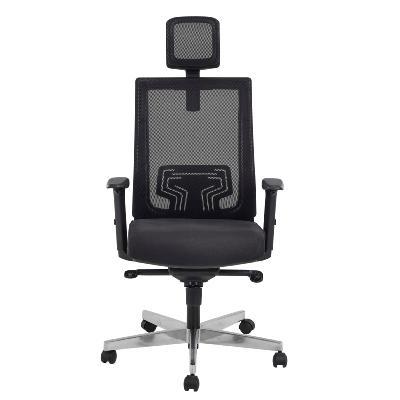 MASSY - Fauteuil de bureau ergonomique avec têtière