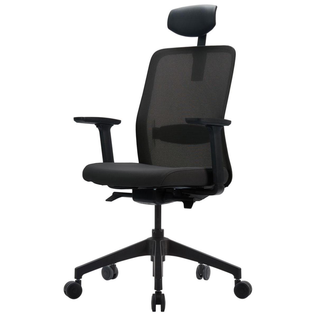 QUANTUM - Siège de bureau ergonomique Tissu/Filet