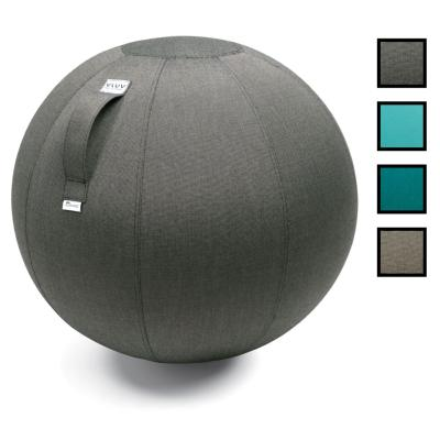 DESKBALL 65W - Ballon d'assise 65CM Water Proof - Charbon