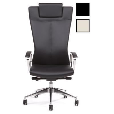 NES - Fauteuil de bureau direction cuir - Noir