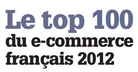 Retour sur le Top 100 du e-commerce français 2012