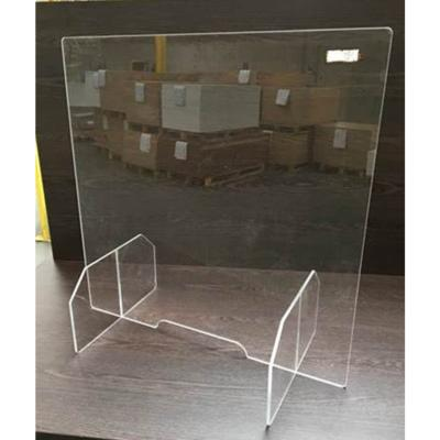 PLEXI - Ecran de protection en plexiglas anti-postillon