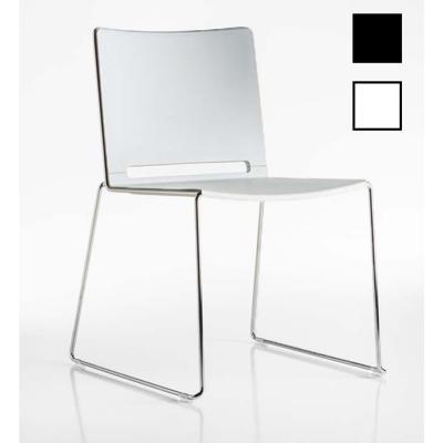 EKLO - Chaises luge structure chromée