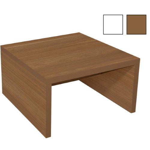 JOUTSENO - Table basse carrée en mélaminé