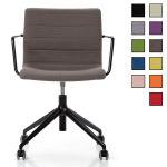 MENIN - Chaise de bureau à roulettes design