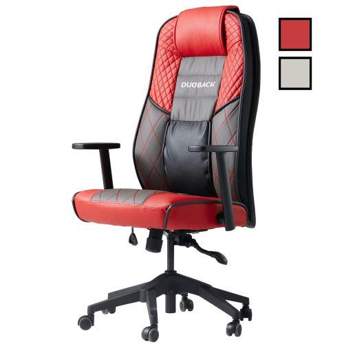 PLAY - Fauteuil de bureau gamer ergonomique - Rouge