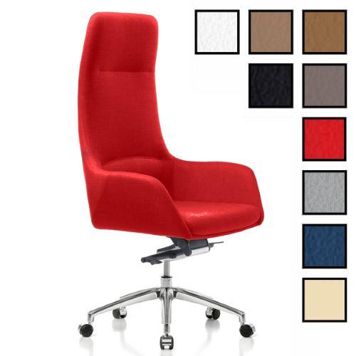 OKLAHOMA - Fauteuil de bureau direction design en cuir