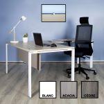 WORK 120X60 - Petit bureau droit design