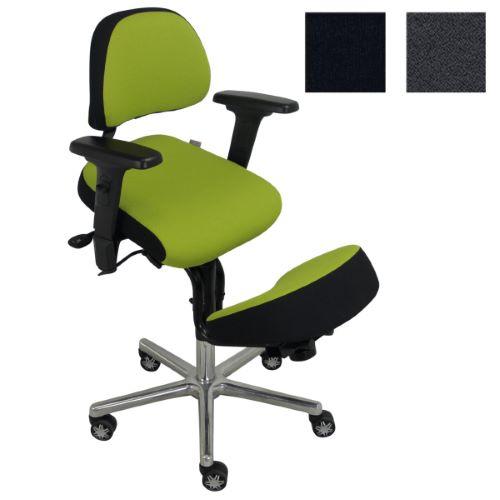 CAVNIC2 - Siège assis genoux-tibias avec dossier