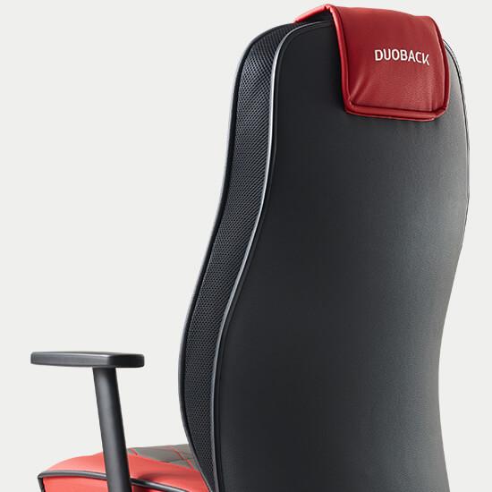 Zoom sur le haut dossier du fauteuil de bureau ergonomique gamer Play