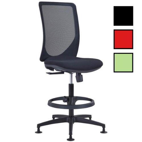 DALOU - Chaise haute tissu pour caisse et dessinateurs