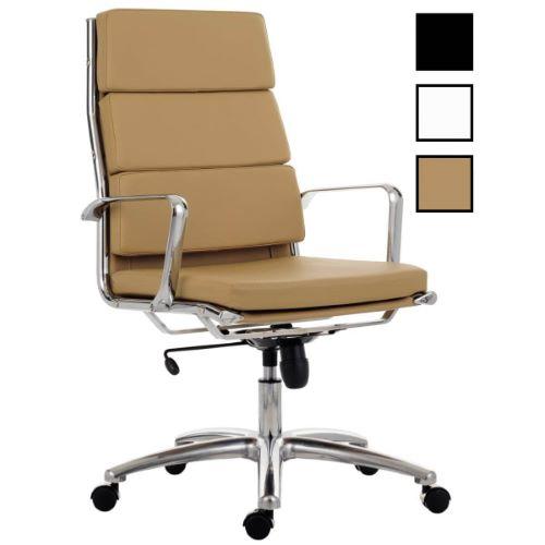 KARE - Fauteuil de bureau président en cuir vintage