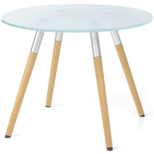 KOKKOLA - Table basse plateau en verre