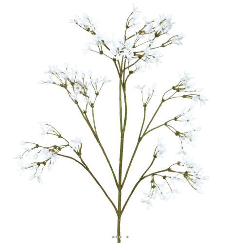 Jasmin Artificiel en piquet H 50 cm Superbe branche fleurie