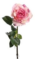 Rose Maya artificielle Rose beaute H 75 cm Tete superbe de 12 cm 4 feuilles