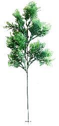 Pinus artificiel en piquet H 42 cm plastique exterieur tres dense 27 tetes