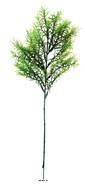 Asparagus Sprengeri en pic plastique artificiel vert H 42 cm aérien