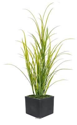 Herbe artificielle des champs en pot H 100 cm pour exterieur