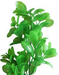 Sedum artificiel en piquet H 42 cm plastique exterieur tres dense 9 tetes