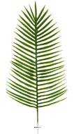 Feuille de palmier Phoenix H 51 cm Plastique pour exterieur D 21 cm superbe