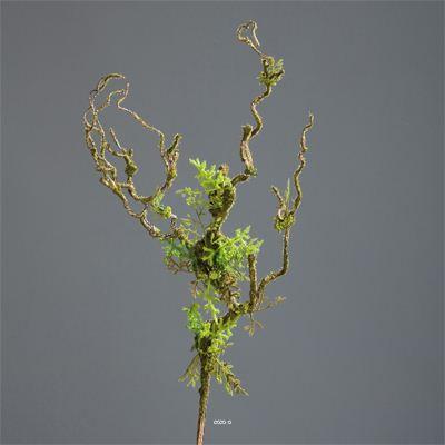 Liane artificielle 95 cm avec mousse plus vraie que nature