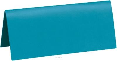 Marque Place x10 Turquoise en carton 3 x 7 cm