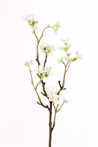 Fleur de Jasmin Artificielle 10 fleurs H 50 cm Superbe branche Crème