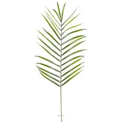 Feuille de palmier Areca artificielle en plastique H 110 cm Vert