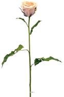 Rose Artificielle Nicole H90cm D10 cm Peche