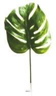 Feuille de Philodendron H 39 cm Plastique pour exterieur D 15 cm Originale