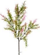 Branche de feuilles de Mirte artificielle H 62 cm plastique ext Vert-rose