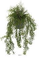 Rhipsalis artificiel, cactus gui feuillage dense, L 65 cm