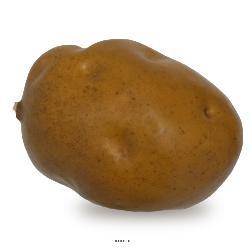 Pomme de terre legume artificiel Superbe L 11 x 7 x H 6 cm environ