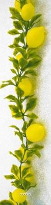 Guirlande de 20 citrons artificiels en Plastique soufflé L 2 m