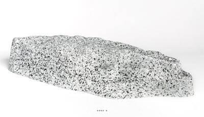 Pierre artificielle granite en Plastique soufflé L 500x200 mm