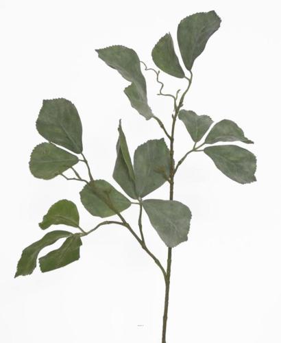 Branche de Parthenocissus artificielle 16 feuilles H 80 cm