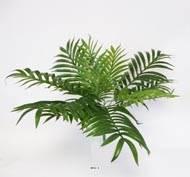 Palmier Areca artificiel en piquet H 55 cm 12 palmes