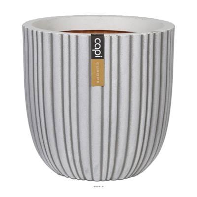 Bac Tube en plastique de qualité supérieure Int/Ext. eggpot 35x34 cm sable